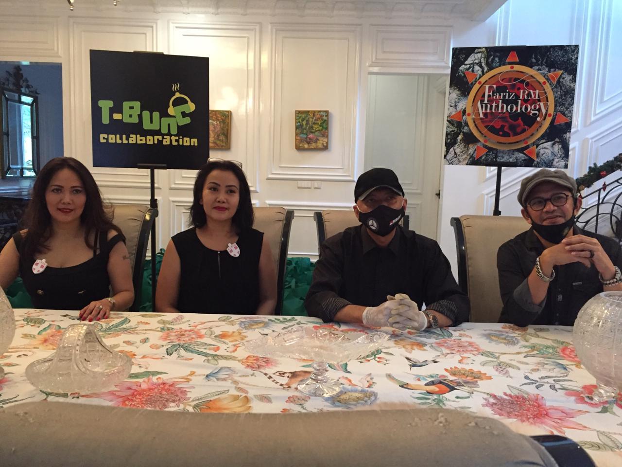 Fariz RM Management dan T-Bunc Collaboration Donasi Pandemi Covid19 Bagi Pekerja Seni dan Jurnalis GPJ