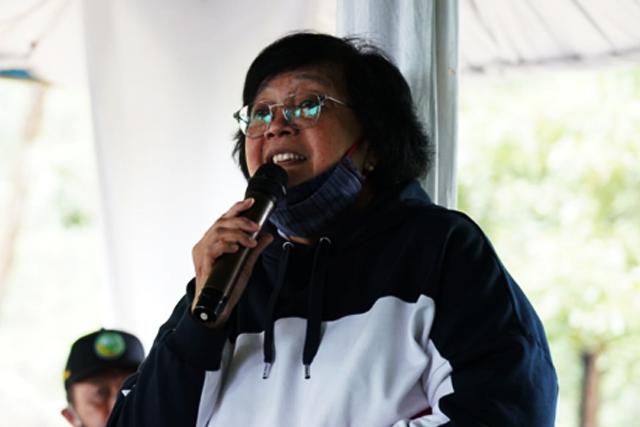 enteri Lingkungan Hidup dan Kehutanan (LHK),SitiNurbaya