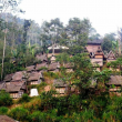 Kasepuhan Ciptagelar Kampung Gede di Kaki Gunung Halimun Salak