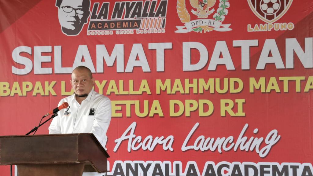 Buzcamp LaNyalla Academia FC resmi hadir di Kabupaten Way Kanan, Lampung.