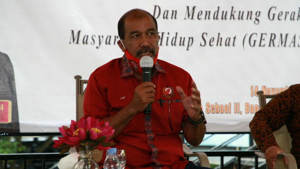 Wakil Ketua DPD RI Nono Sampono Ingatkan Kembali Masyarakat Jaga Pola Hidup Sehat