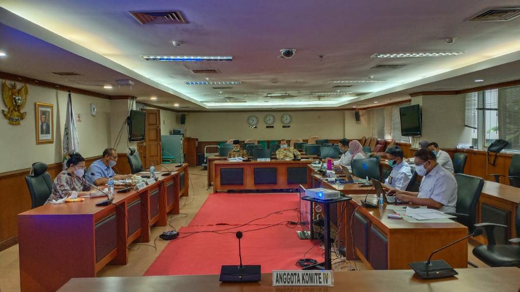 Bahas Laporan Keuangan Daerah Selama Pandemi dengan BPK RI