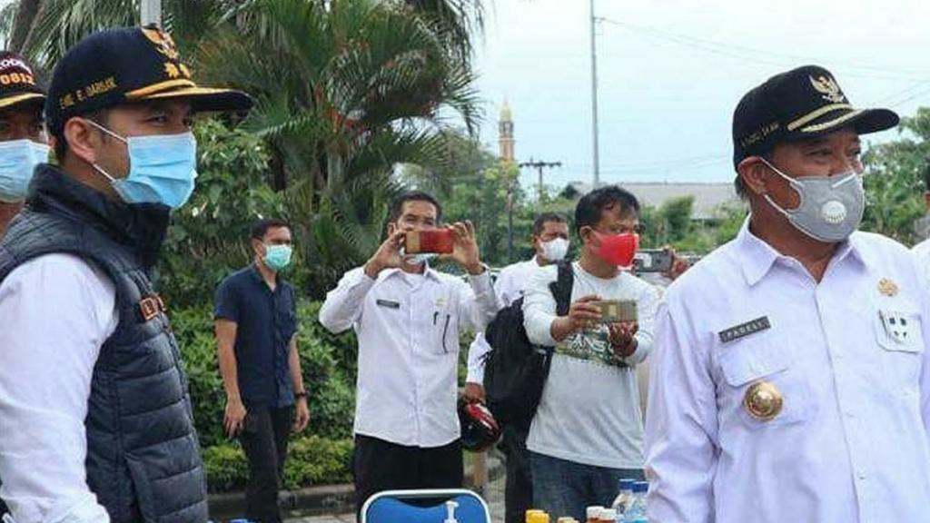 Tinjau Kesiapan Asrama Haji Surabaya dan BPSDM Jatim untuk Pasien Covid-19