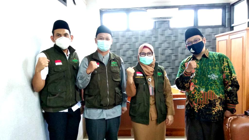 Pengurus Ranting NU Sosialisasikan Program Kerja Kepada Lurah Sukabumi Selatan