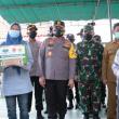 Kunjungan Kapolda Metro Jaya dan Pangdam Jaya ke Kampung Tangguh Jaya Ciledug