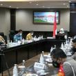 Walikota Batu mengikuti Teleconference Rakor Pelaksanaan Covid-19 dan Rencana PSBB di Jatim