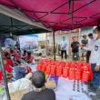 Posko Dapur Umum Kemnaker Bagi Korban Gempa di Sulawesi Barat