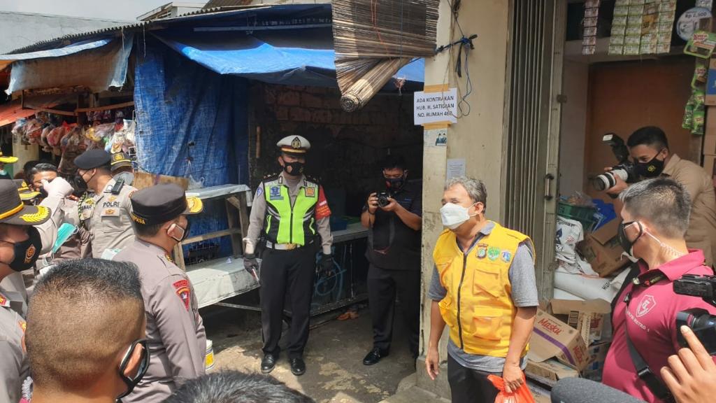 Polda Metro Jaya akan Bagikan Masker 100.000 Setiap Hari