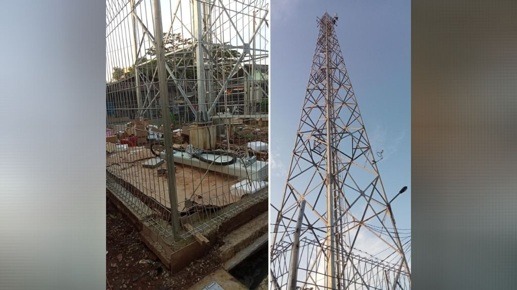 Pembangunan Tower Celluler Tambun Selatan Diduga Tak Berizin