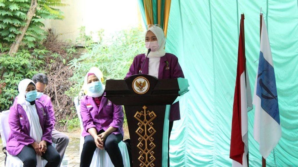 Ajak Pengurus ASKI Lampung Semangat Berolahraga di Masa Pandemi