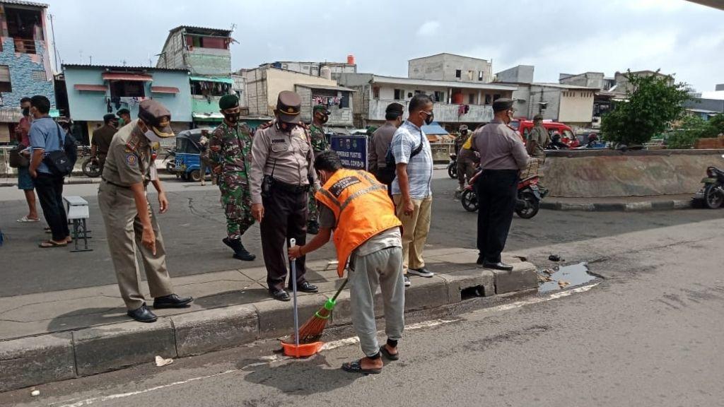 Ops Tibmask, 33 Pelanggar Tidak Gunakan Masker di Tambora