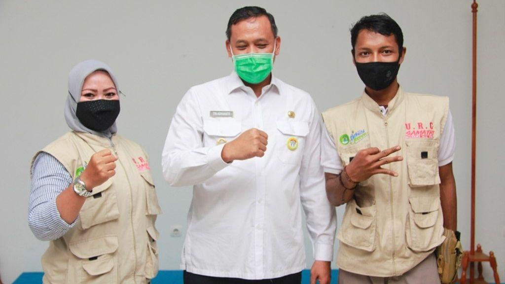 Kukuhkan Relawan URC RS. Satria Medika