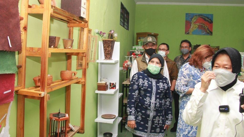 Wakil Wali Kota Bekasi Sambut Mensos Tri Rismaharani