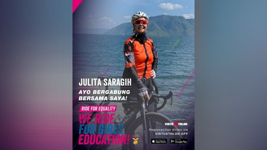 Julita Sarsgih : Ride for Equality, We Ride