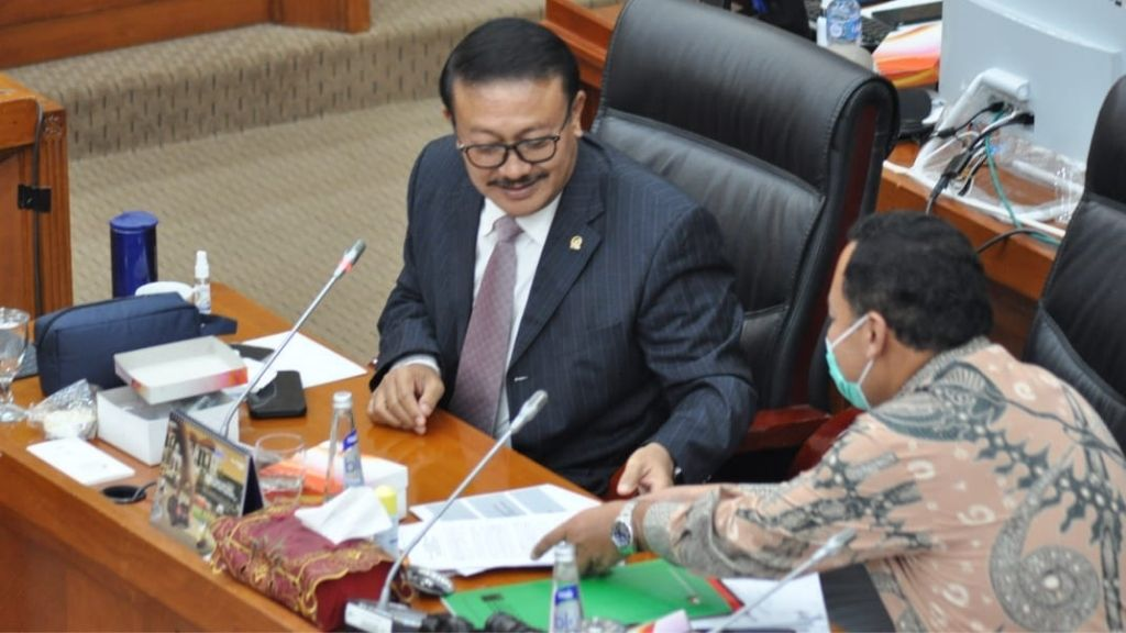 Raker Bersama Komisi VI DPR, Kemenlu dan Kemendag Bahas Ekonomi Kreatif