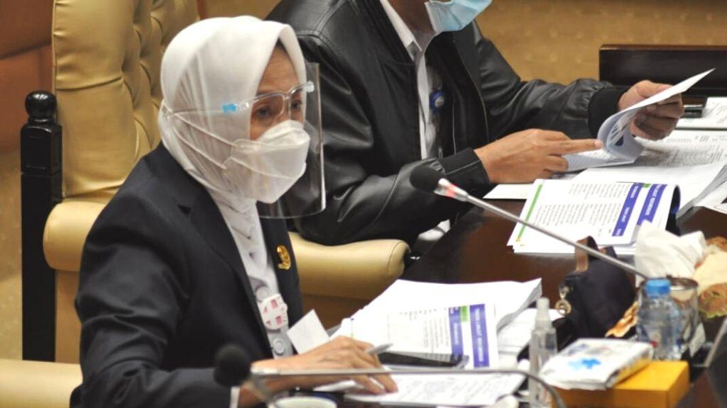 Komisi V DPR RI Rapat Dengar Pendapat dengan Kepala BMKG dan BNPP