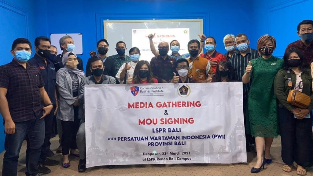 LSPR Bali - PWI : Tingkatkan Awareness Pendidikan Komunikasi dan Profesi Humas
