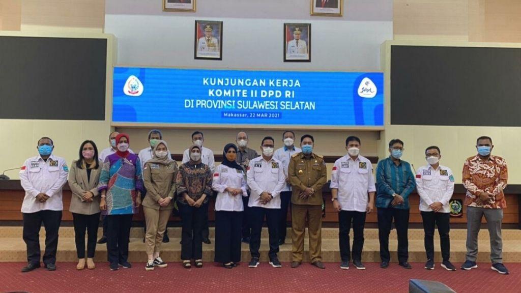 Lakukan Pengawasan UU Jalan dan BUMN ke Provinsi Sulawesi Selatan