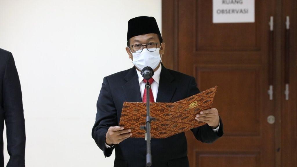 Sekjen DPD RI Rahman Hadi Lantik Pejabat Fungsional Setjen DPD RI