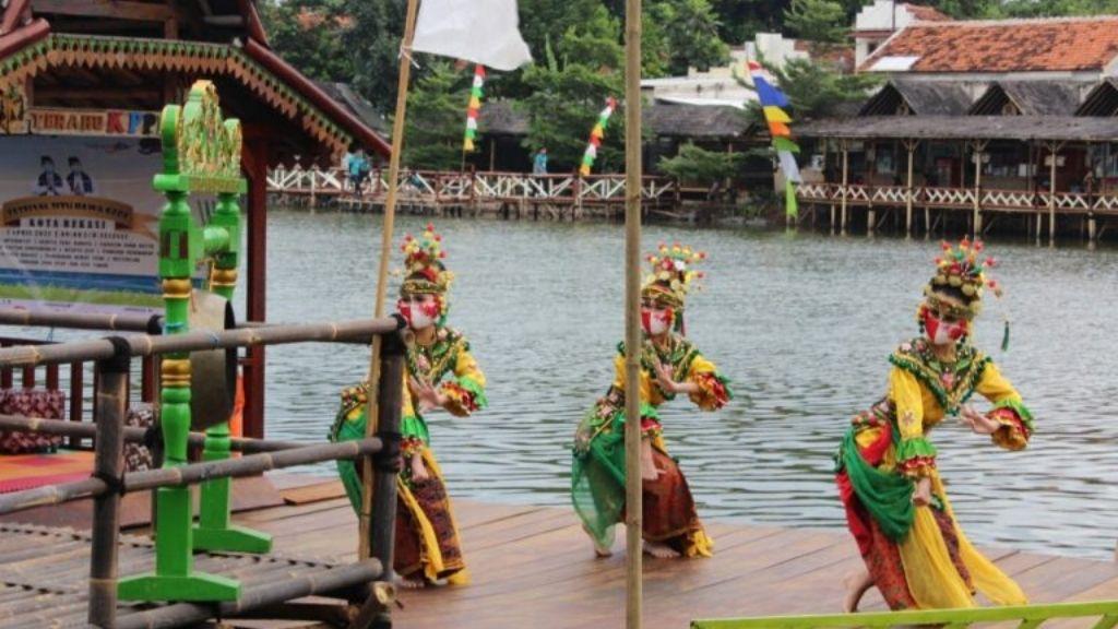Wakil Walikota Buka Festival Destinasi Wisata Situ Rawa Gede