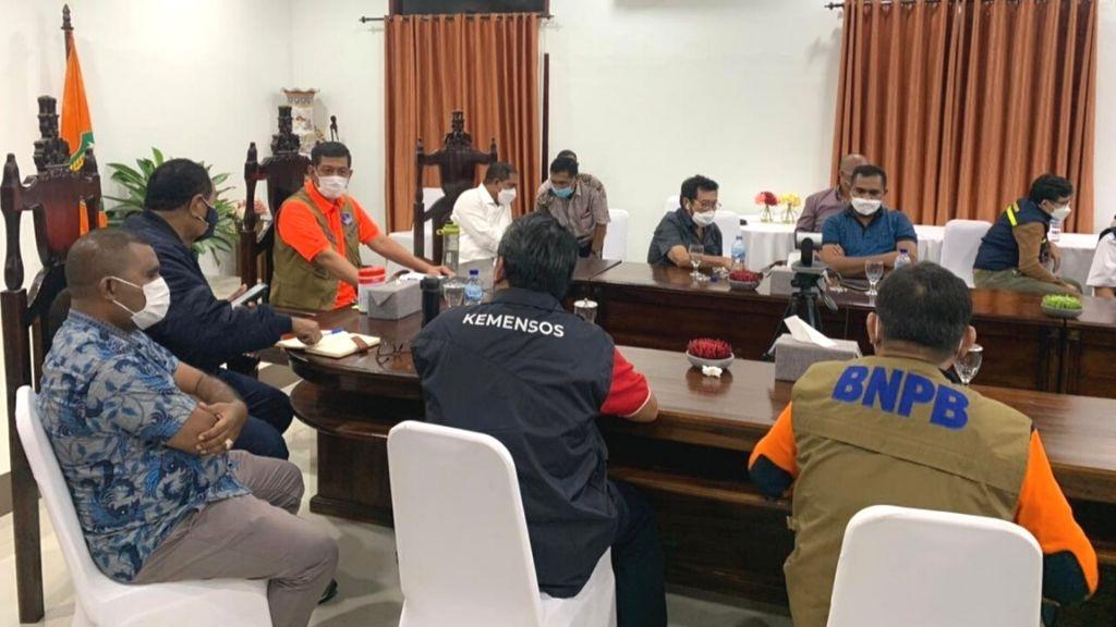 Komite II DPD RI Bersinergi Bantu Penanggulangan Bencana NTT