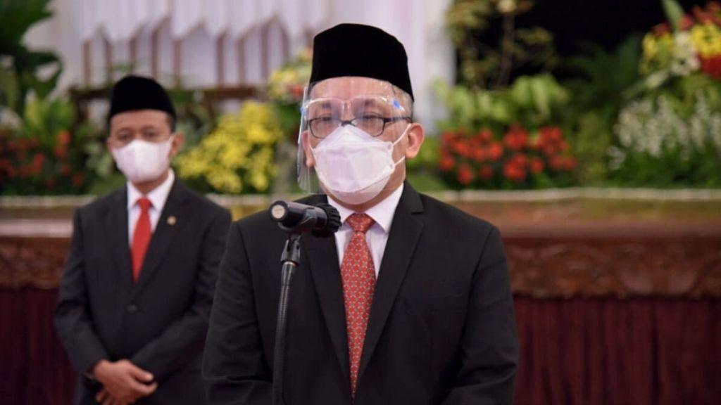 Presiden Lantik Menteri Investasi, Mendikbudristek, BRIN dan Dewas KPK