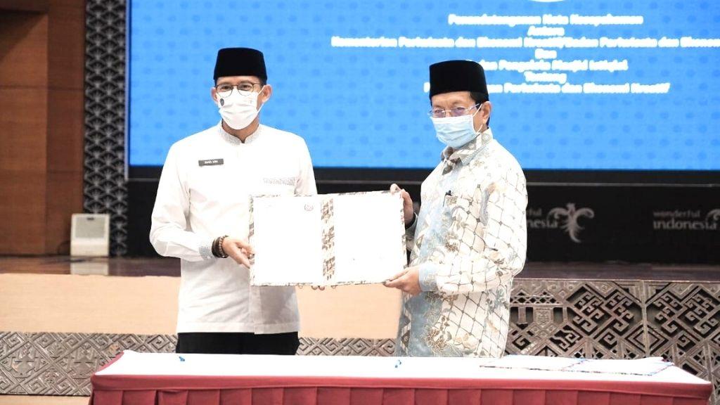 Kemenparekraf-BPMI Kembangkan Wisata Halal di Masjid Istiqlal/