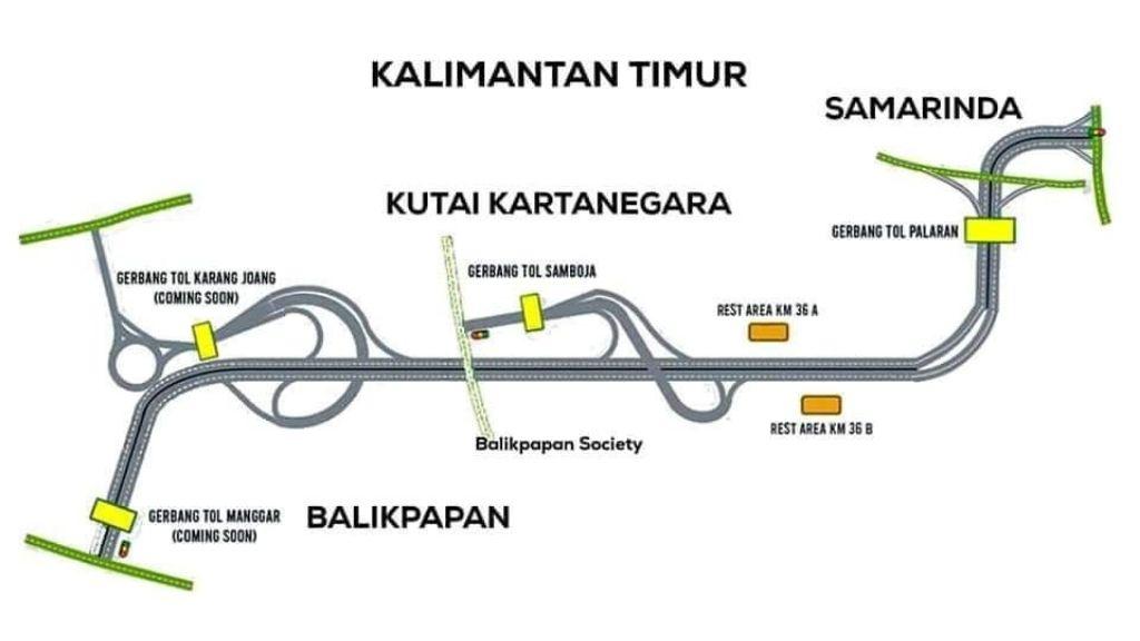 Kalimantan Sah Memiliki Ruas Tol Lengkap Pertama Kalinya